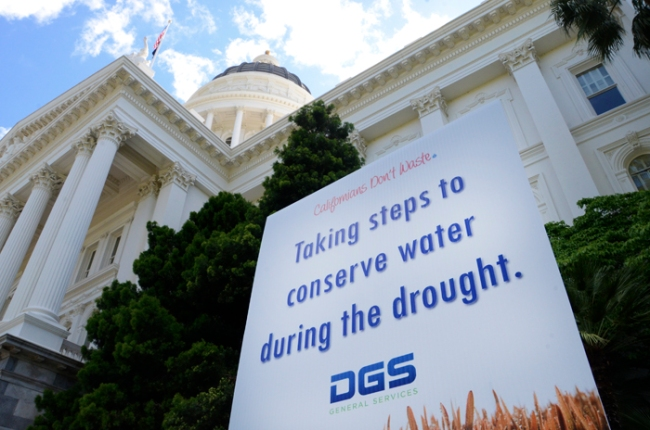 State to Pursue Drought-Tolerant Landscaping,  Irrigation in Capitol Park