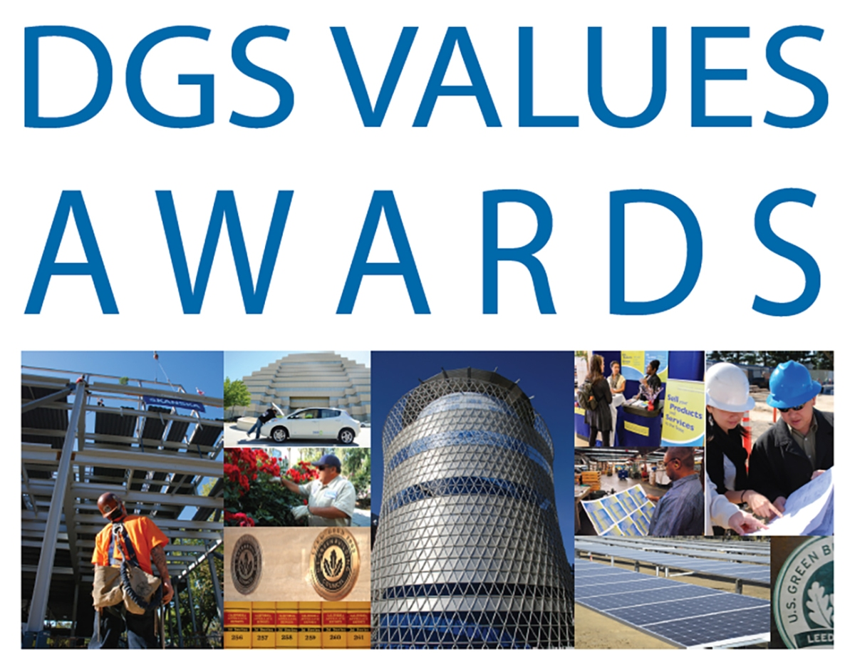 DGS Employees Honored with Values awards