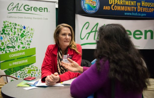 CA:LGreen staff are on hand to answer questions.