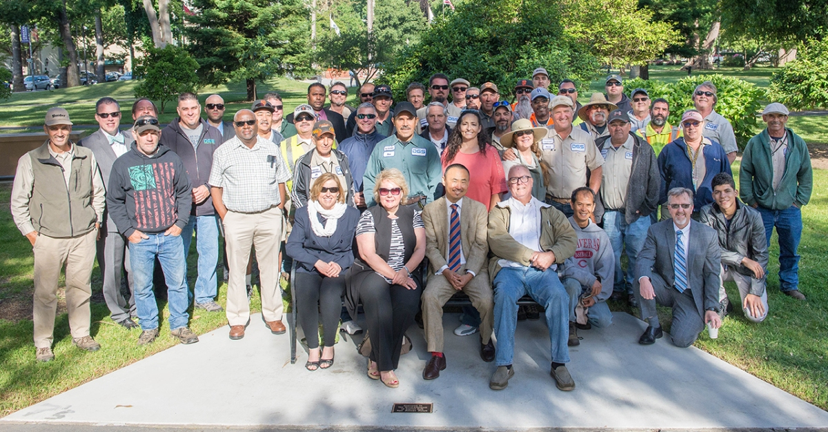 DGS Dedicates Plaque to Recognize Groundskeepers