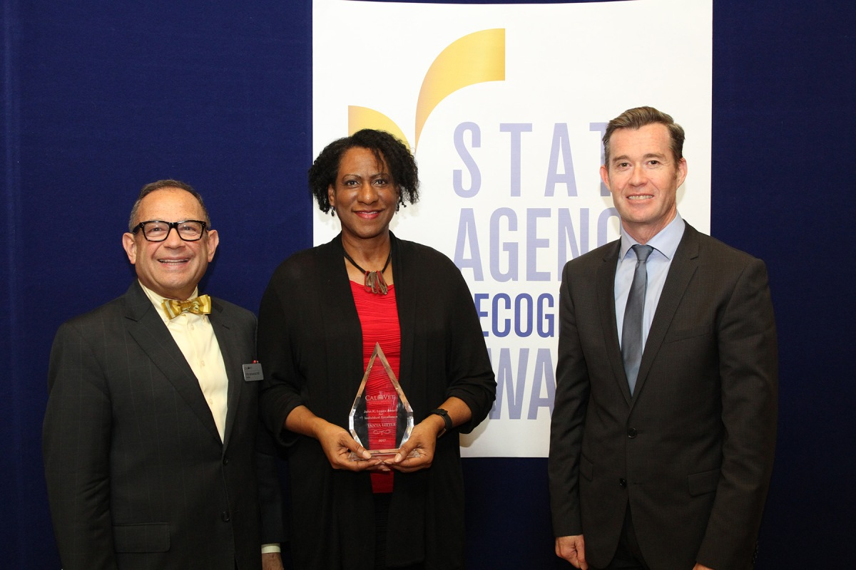 State Agencies, Employees Awarded for Exceeding Small Business Contracting Participation Goals